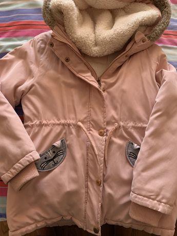 Курточки на девочку 122-134