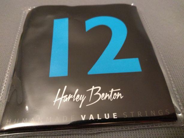 Struny do gitary akustycznej Harley Benton.