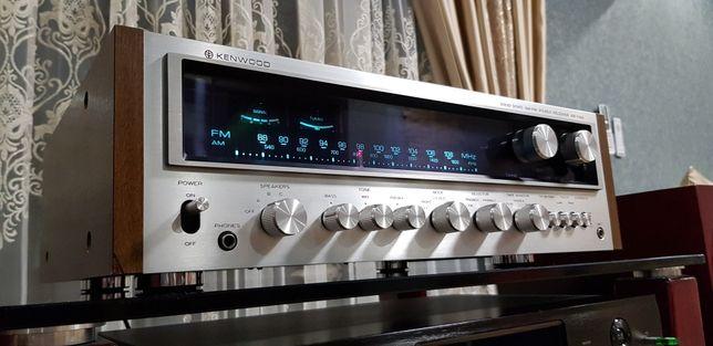 Kenwood KR-7400 Стерео ресивер. Вес 14 кг. Верхняя модель