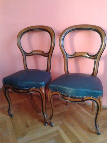 Stare krzesła antyczne drewniane solidne antyk antyki krzesło
