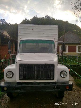 Вантажний фургон ізотермічний Газ 3307  2006р на газу