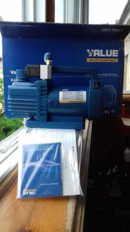 Вакуумный насос Value  v-i215S-M и набор вальцовка Value vft-809-I