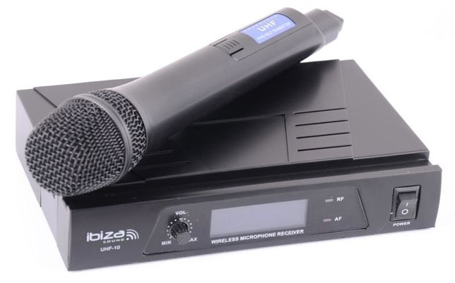 Mikrofonowy zestaw bezprzewodowy UHF10A Ibiza