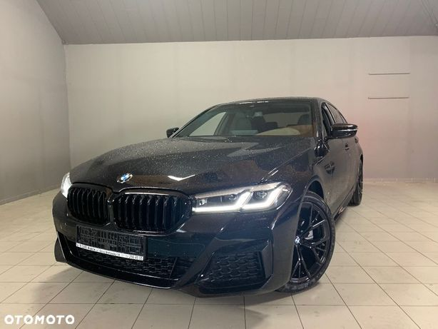 BMW Seria 5 520d / 190KM! / MHEV / Shadow Line / Kamery 360 / Harman Kardon / DEMO