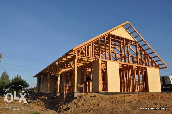 Domy szkieletowe kanadyjskie energooszczędne dom drewniany projekt