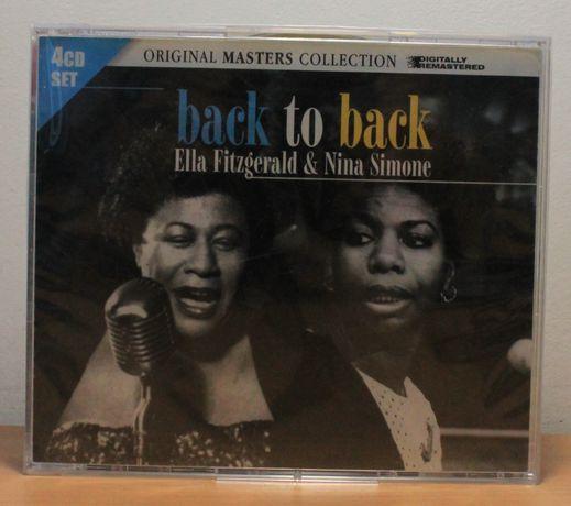 Ella Fitzgerald & Nina Simone – Back to Back (2010, 4CD, запечатанный