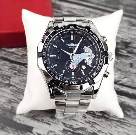 Акция!!! Мужские механические наручные часы Winner Titanium