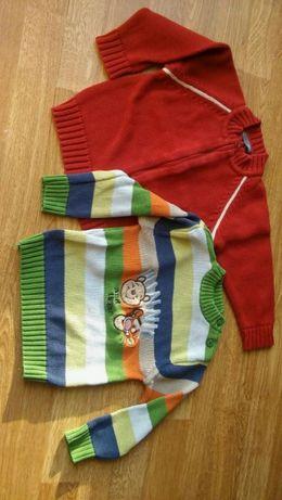 Sweterki H&M i C&A w rozmiarze 86 cm