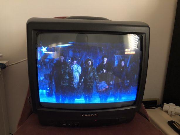 Tv analogica a funcionar