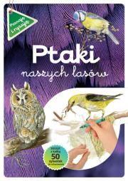 Ptaki naszych lasów zeszyt z kalką Autor: Katarzyna Kopiec + gratis
