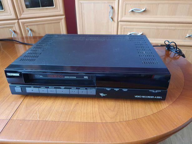 Magnetowid odtwarzacz video wideo VHS Telefunken a930l