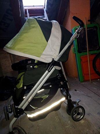 Peg perego wózek pliko spacerowy parasolka przedkładany przód tył