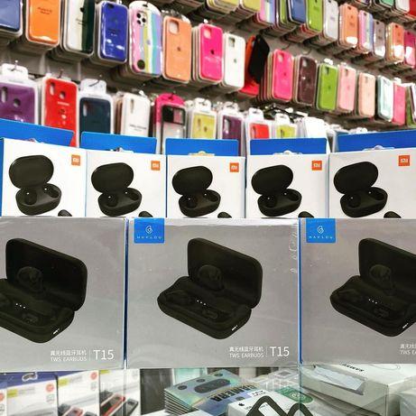 НОВЫЕ НАУШНИКИ Xiaomi QCY T1C T5 T6 T9 T10 tws HAYLOU GT1 T15 T16 T19