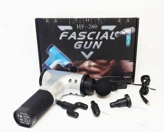 Вибромассажер,ручной массажёр для мышц (массажный пистолетударный)