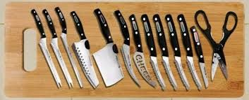 Набор кухонных ножей Miracle Blade 13 в 1,для дома, дачи,пикника,кухни