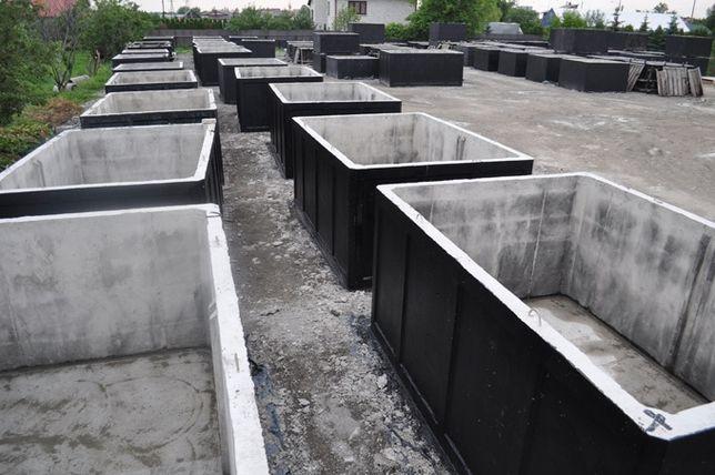 Zbiornik betonowy na wodę opadową- deszczową. Zbiorniki na deszczówkę
