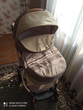 Продам коляску RIKO bruno ecco и стульчик для кормления caretero Bistr