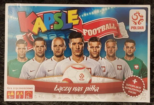 Kapsle Football - nowa, zafoliowana, z plakatem