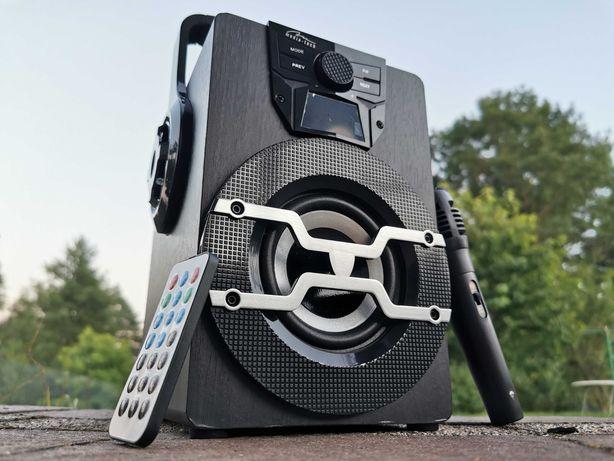 Kolumna Boombox Radio Głośnik BLUETOOTH MP3 WIEŻA Subwoofer Budowlane