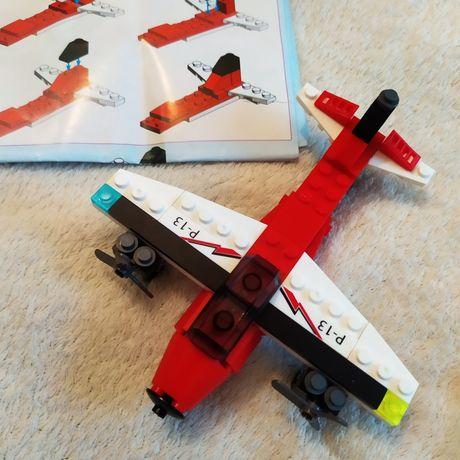 Конструктор 2 в 1 самолёт, катер