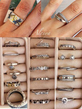 Кольцо серебро пандора, срібні каблучки
