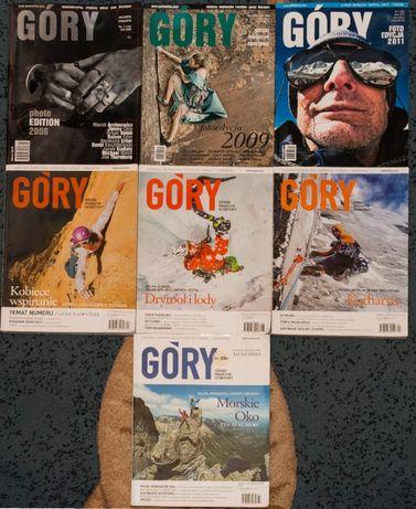Magazyn GÓRY 7 numerów - cena za szt.