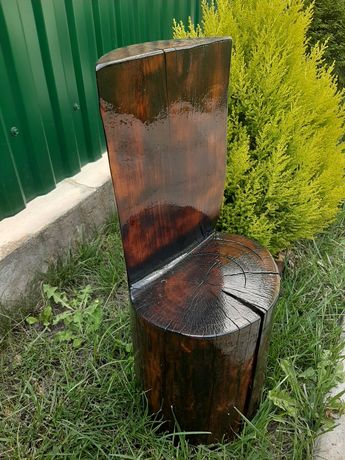 Еко стілець дитячий дерев'яний