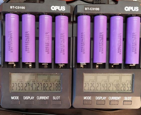 Аккумуляторы 18650 Li-ion LG