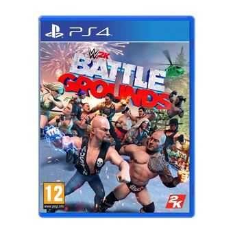 Jogo PS4 WWE 2K Battlegrounds (NOVO)
