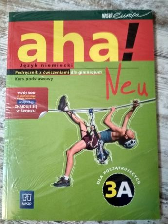 Język niemiecki aha!dla gimnazjum