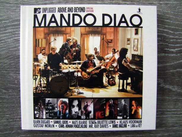 MANDO DIAO - MTV Unplugged Above And Beyond [2CD] (Special Edition )