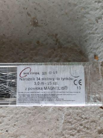Narożnik 34 metalowy 3m