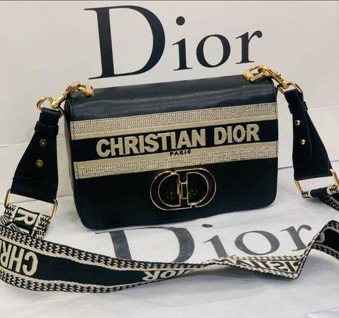 Piękna czarna listonoszka Diora