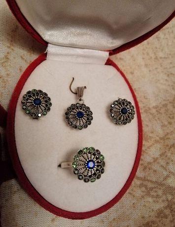 Продам набор эксклюзивного капельного серебра из Марокко.