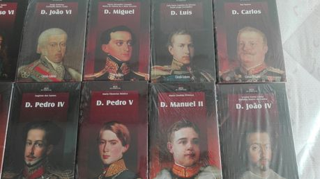 13 Biografias Reis/Rainhas de Portugal - BAIXA DE PREÇO/OPORTUNIDADE