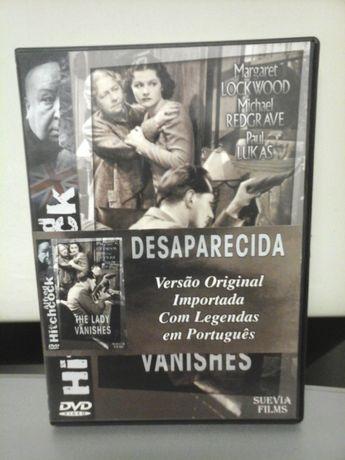 DVD A Desaparecida de Alfred Hitchcock - Leg. em Port ENTREGA IMEDIATA