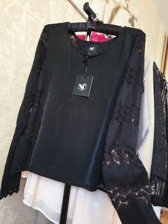 Блуза рубашка с супер спинкой датского премиум бренда NÜ Denmark