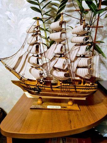 Продаю макет корабля парусника 40/36 см
