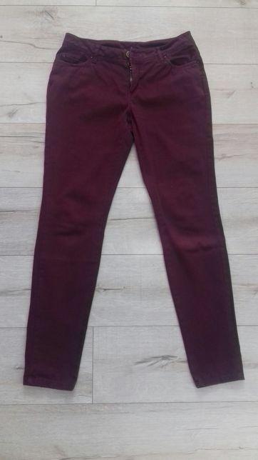 Spodnie bordo r38 -40