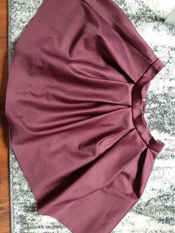 Spódnica bordowa