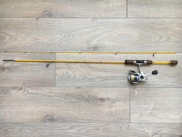 Спиннинг Fishing roi Butterfy 1.8m 0.5-3.5g , катушка shimano alivio
