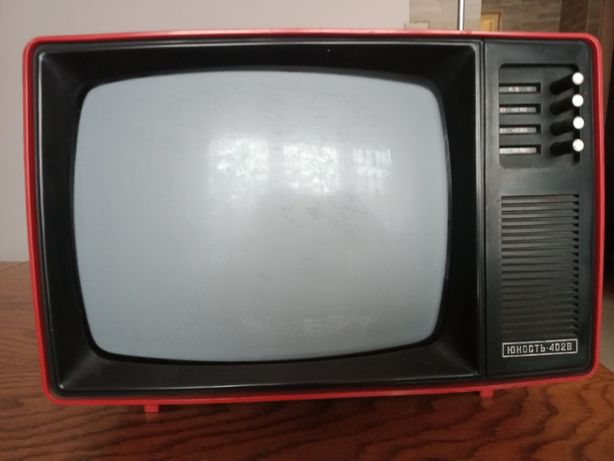 radziecki telewizor junost 402 b