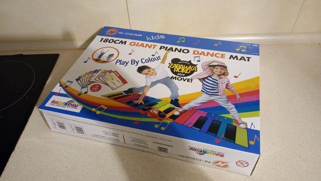 Mata muzyczno-taneczna Rainbow Colours Giant Piano Dance Mat 180 cm.