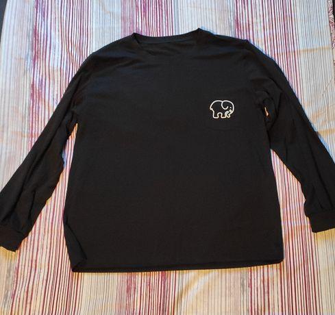 Bluza Czarna ze Słonikiem