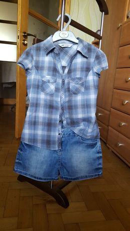 Тенниска H&M + шорты. Комплект на 8-9 лет ( можно отдельно)