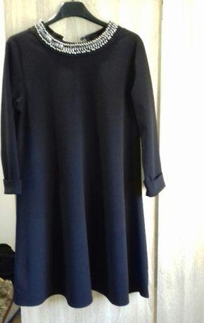 Czarna sukienka- rozmiar uniewersalny
