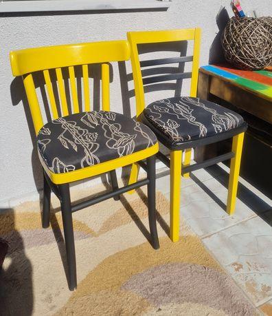 Dwa krzesla giete