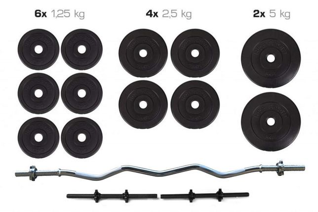 Набор Штанга + Гантели 36 кг