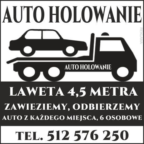 Auto holowania Pomoc drogowa 24H