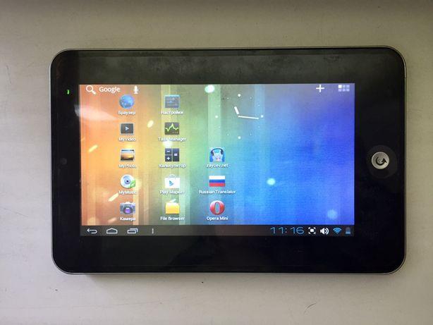 Планшет Android WM8850-E18E + клавиатура на ÚSB, стилус